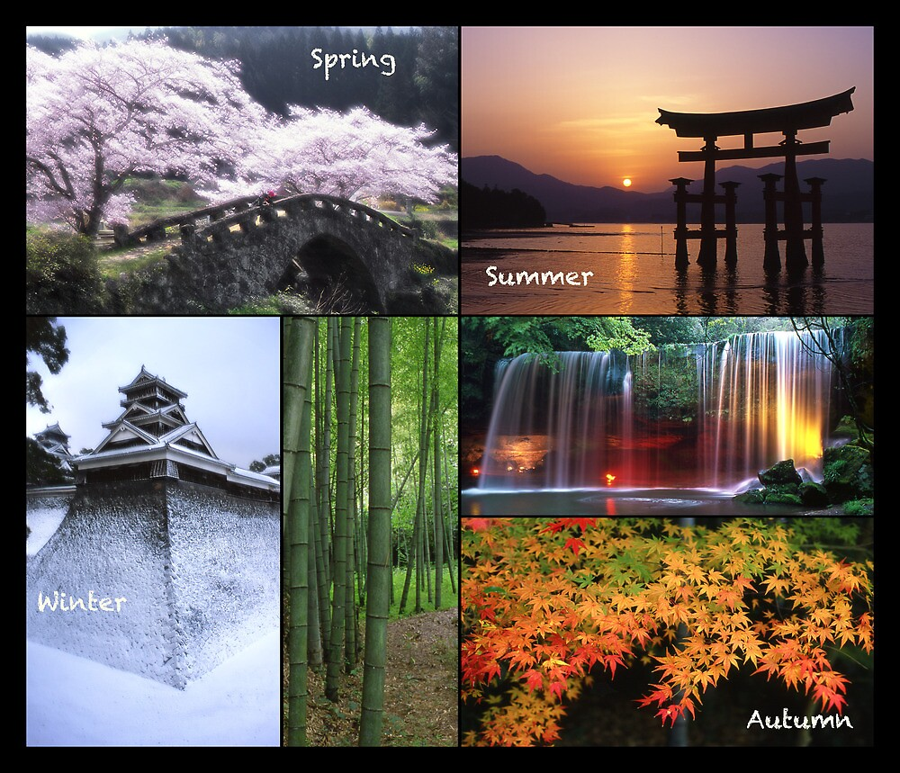 Japan: Seasons by Wandering-Ronin