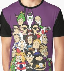 Day at the Mansion in colour! Graphic T-Shirt