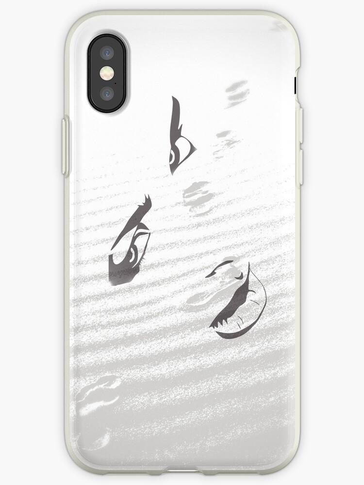 Footprints in the sand by Van Nhan Ngo
