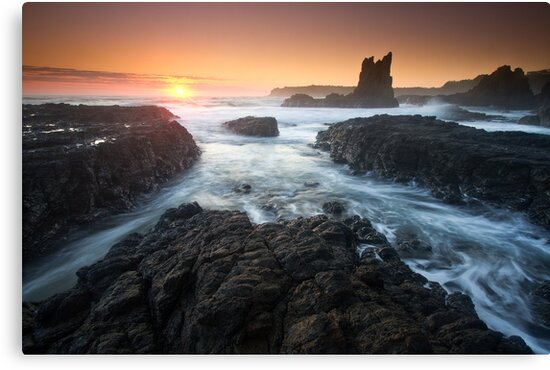 """Cathedral Sunrise"" ∞ Kiama, NSW - Australia by Jason Asher"