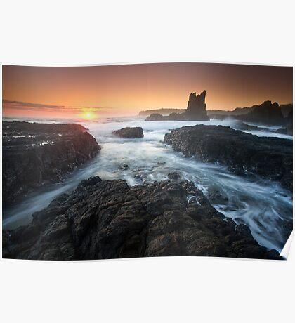 """Cathedral Sunrise"" ∞ Kiama, NSW - Australia Poster"