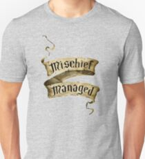 Mischief Managed Banner T-Shirt