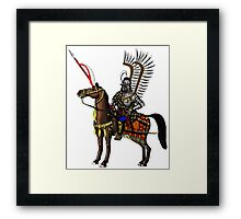Polish Winged Hussar Cartoon Art Drawing Posters By