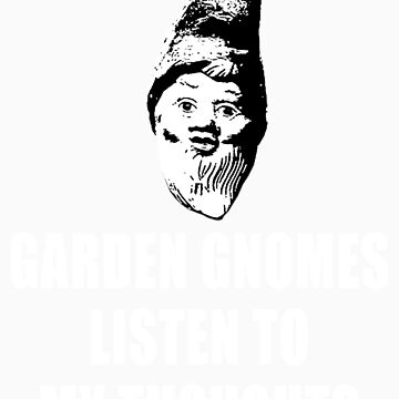 Garden Gnomes (white) by MissCake