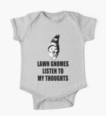 Lawn Gnomes (black) One Piece - Short Sleeve