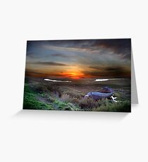 View over Blakbney Point. Greeting Card