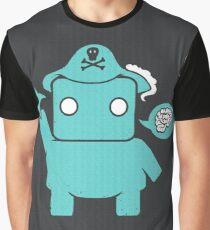 Ninja, Pirate, Robot, Zombie | Cute Geek Character Graphic T-Shirt