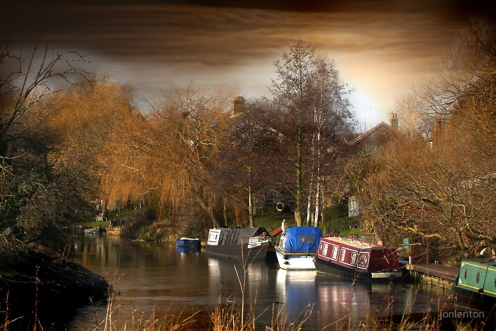 River Nene, March, Cambridgeshire by jonlenton