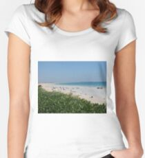 Cable Beach, Broome, Western Australia Women's Fitted Scoop T-Shirt