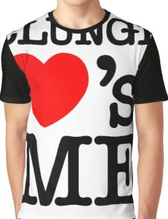 CLUNGE LOVE'S ME Graphic T-Shirt