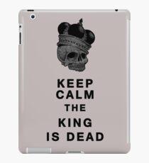 Keep calm iPad Case/Skin