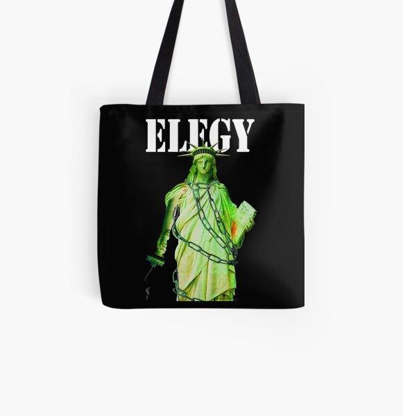 Elegy All Over Print Tote Bag