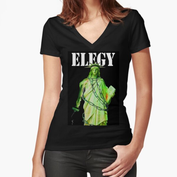 Elegy Fitted V-Neck T-Shirt