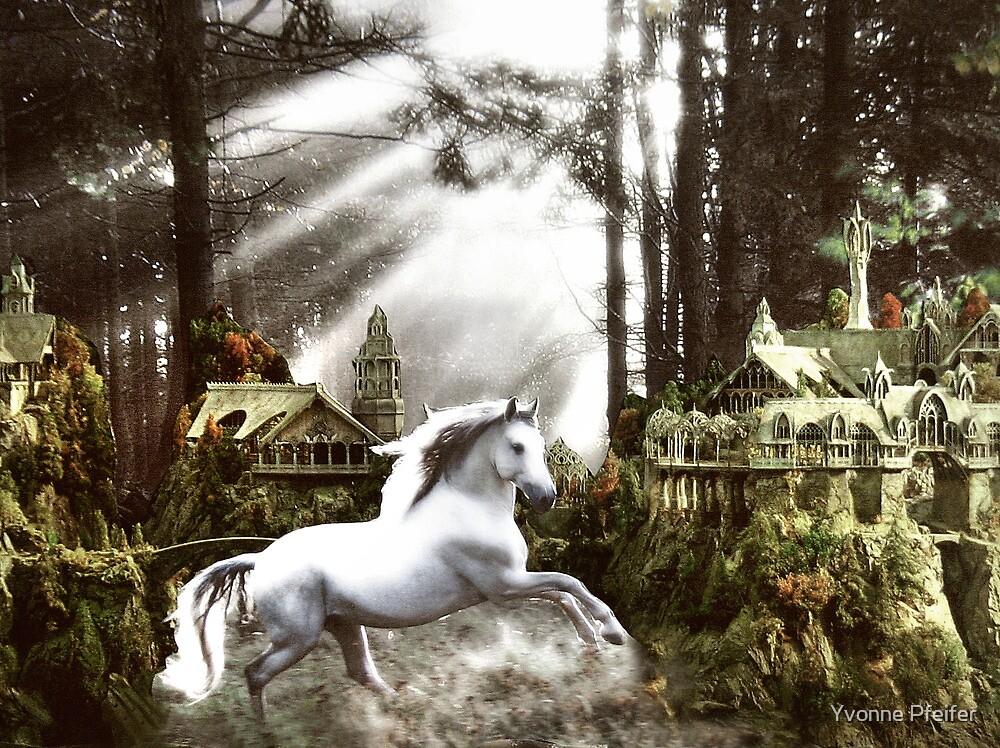 Arrival in Rivendell by Yvonne Pfeifer