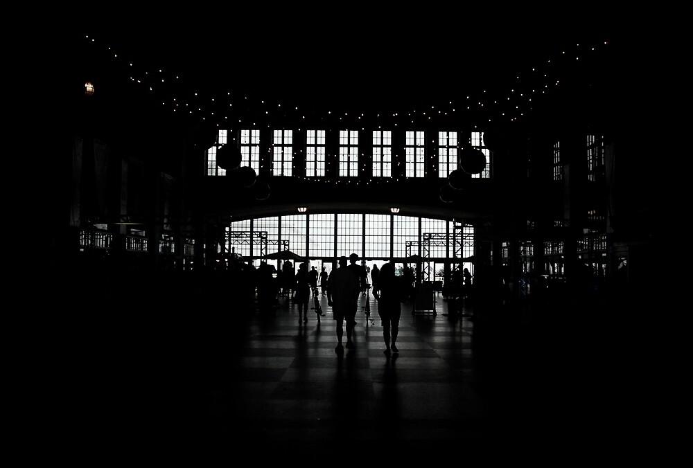 People walking in a mall by alanbuech