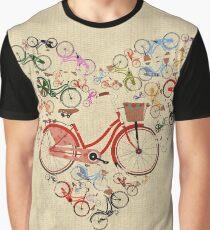 I Love My Bike Graphic T-Shirt