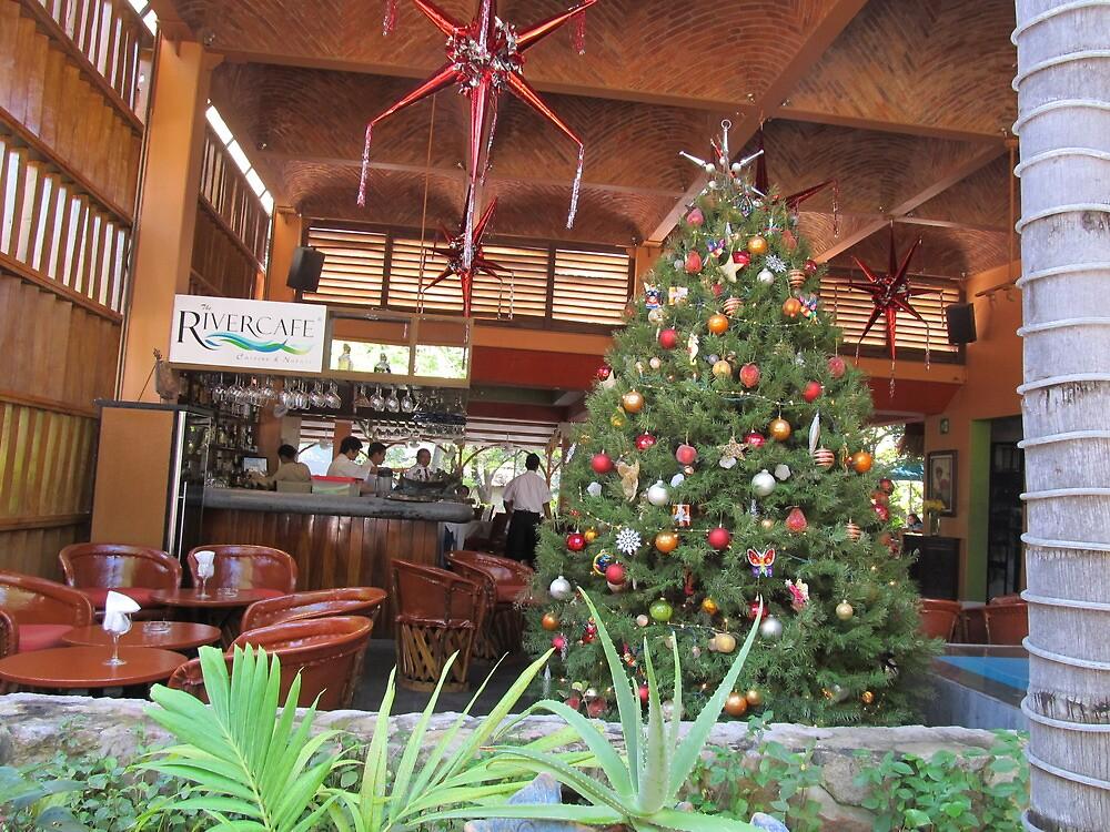 Restaurant at the Isla Cuale, Puerto Vallarta, Mexico by PtoVallartaMex