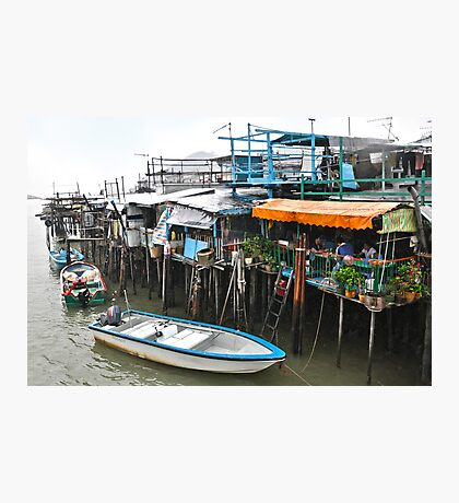 Tai O Restaurant Photographic Print