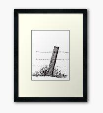 Prairie Nest Framed Print