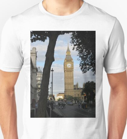 Big Ben Through the Trees T-Shirt