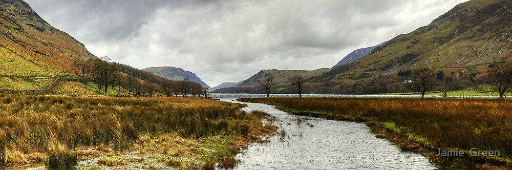 Warnscale Beck and Buttermere by Jamie  Green