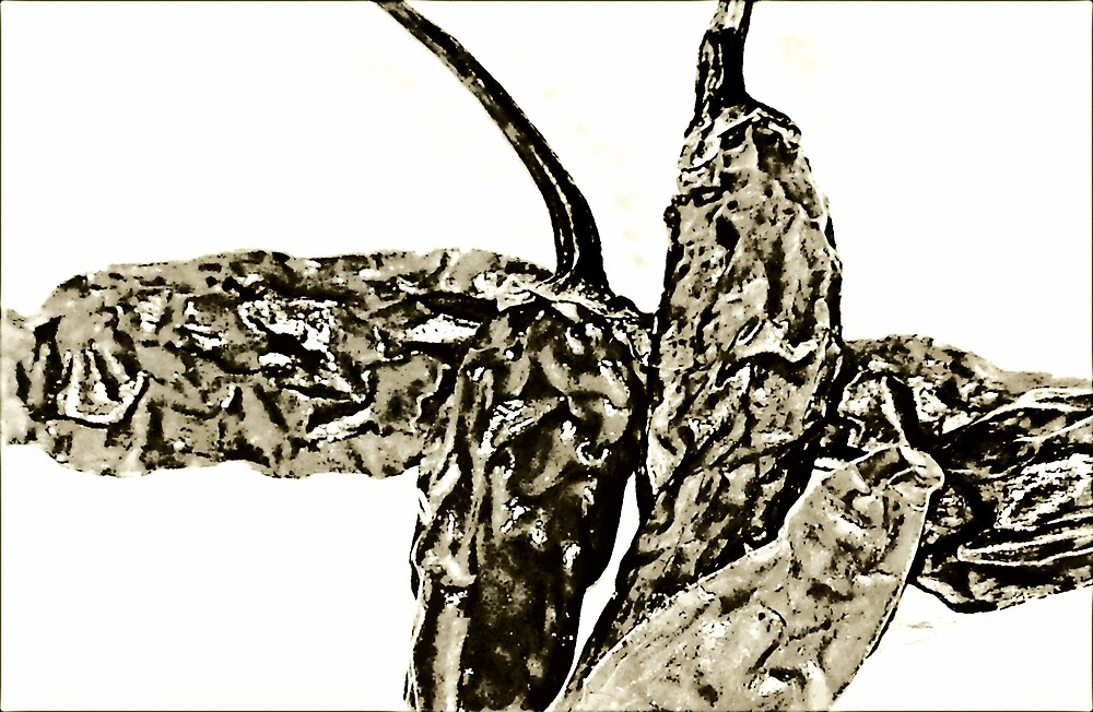 Crumpled Chili by saripin