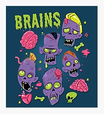 Brains Photographic Print