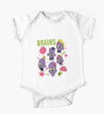 Brains One Piece - Short Sleeve