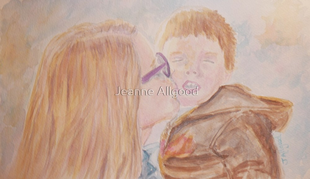 Auntie's Kiss by Jeanne Allgood