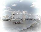 Tower Bridge London by Audrey Clarke