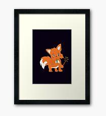 Magical Fox Framed Print