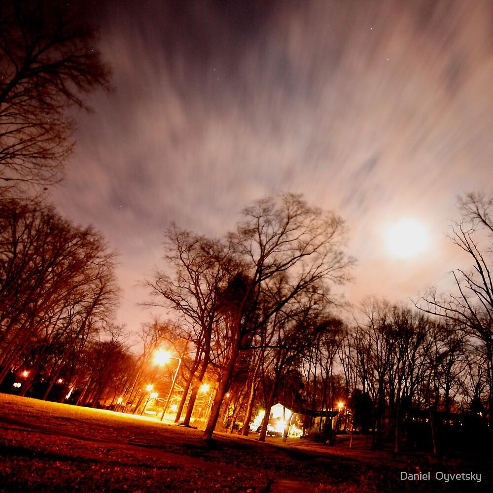Cool Night Sky! I can't explain! by Daniel  Oyvetsky