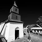 Church of Holoko Village - Hungary by Paul Williams