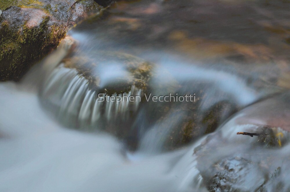 Water Movement Detail 17 by Stephen Vecchiotti
