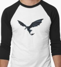How To Train Your Dragon Toothless Design Men's Baseball ¾ T-Shirt