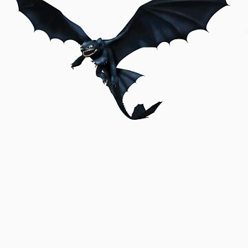 How To Train Your Dragon Toothless Design by Geckoface