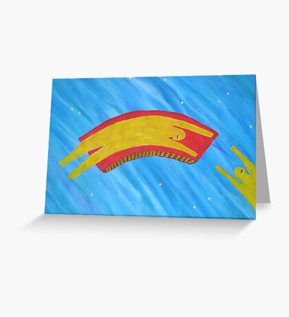 Look up in the Sky Tonight Greeting Card