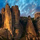 Meteora Mountain Monateries, Greece by Paul Williams