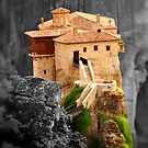 Meteora Mountain Monateries, Greece 3 by Paul Williams