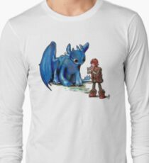 How To Train Your Dragon 'Toothless'  By EmegE  Long Sleeve T-Shirt