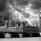 Houses of Parliament & Big Ben Tower - London by Paul Williams