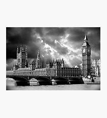 Houses of Parliament & Big Ben Tower - London Photographic Print