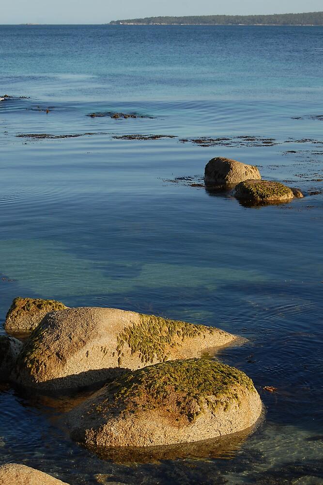 Quiet spot ~ Binalong Bay by Richard  Stanley
