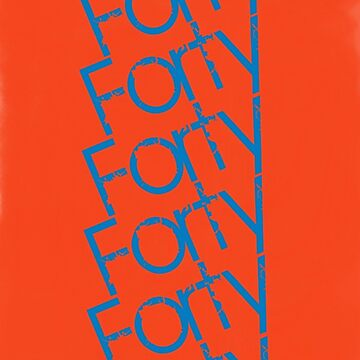 Forty Forty iphone cover design  by FortyForty