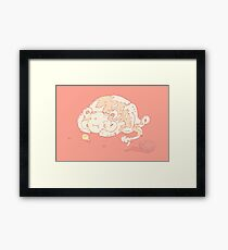 Candy game Framed Print