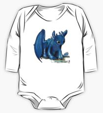 How To Train Your Dragon 'Toothless' by EmegE (Edited) One Piece - Long Sleeve