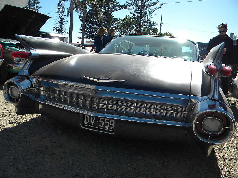 Caddy Tail Fins by gordonspics
