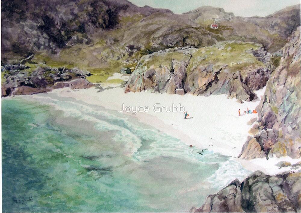 Auchmelvich Bay by Joyce Grubb