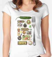 Mexican Food Women's Fitted Scoop T-Shirt