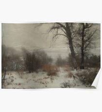 """ Soft Woodlands Christmas "" Poster"